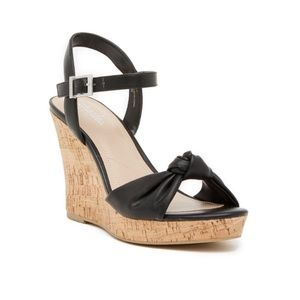 NEW Charles by Charles David Lolly Wedge Sandals